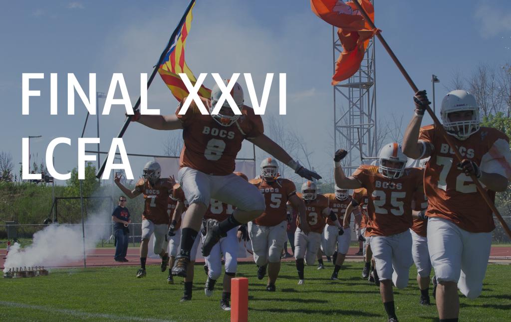 Final XXVI Lliga Catalana de Futbol Americà (LCFA)